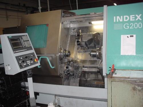 CNC-Zweispindelautomaten