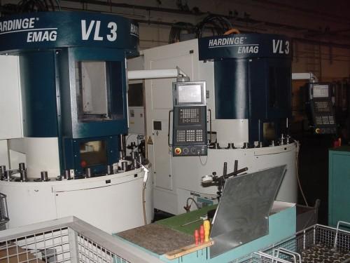 Vertikal-CNC-Drehautomaten VL3